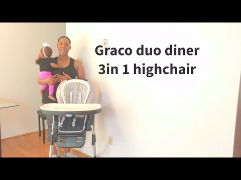 Graco DuoDiner 3in1 high chair review