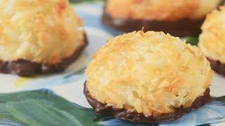 Coconut Macaroons Recipe Demonstration - Joyofbaking.com