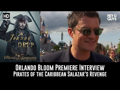 Orlando Bloom Premiere Interview - Pirates of the Caribbean: Salazar's Revenge