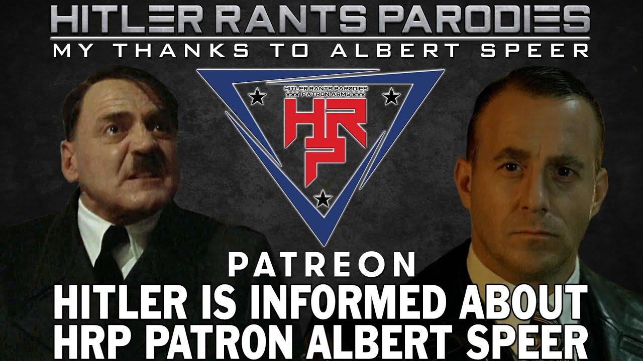Hitler is informed about HRP Patron: Albert Speer