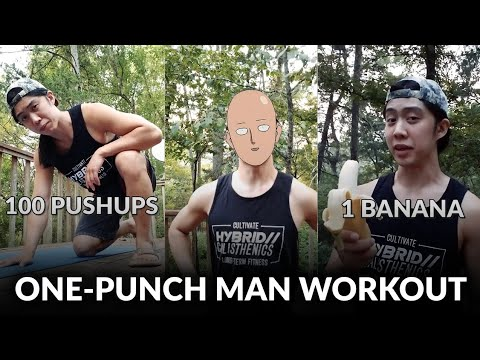 Saitama's Workout from One Punch Man - YouTube