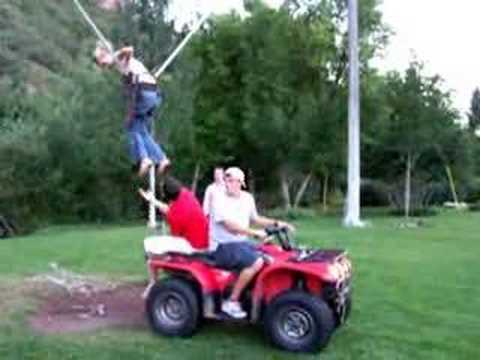 Backyard Bungee Jumping