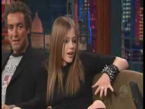 Avril Lavigne on Jay Leno 2002