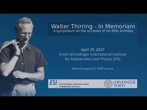 Symposium »Walter Thirring