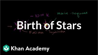Birth of stars | Stars, black holes and galaxies | Cosmology & Astronomy | Khan Academy