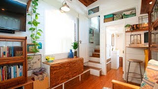 Be Inspired By This Tiny House Designed And Built By A Single Mom | Living Design For A Tiny House