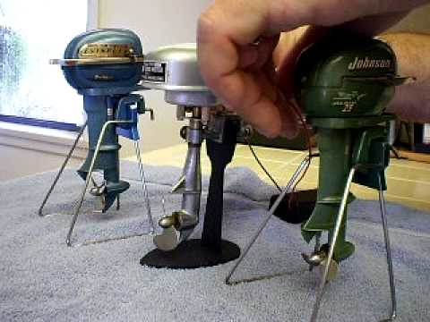 Toy Outboard Motors (Pt. 1 of 6)