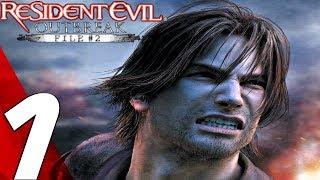 Resident Evil Outbreak File #2 HD - Gameplay Walkthrough Part 1 - Wild Things [4K 60FPS]