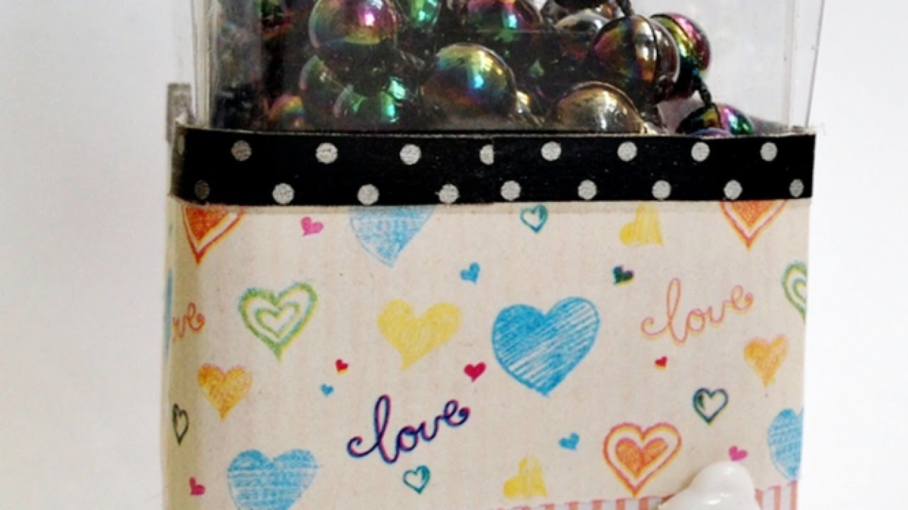 Recycled plastic storage boxes - Create A Recycled Plastic Storage Box Diy Home Guidecentral