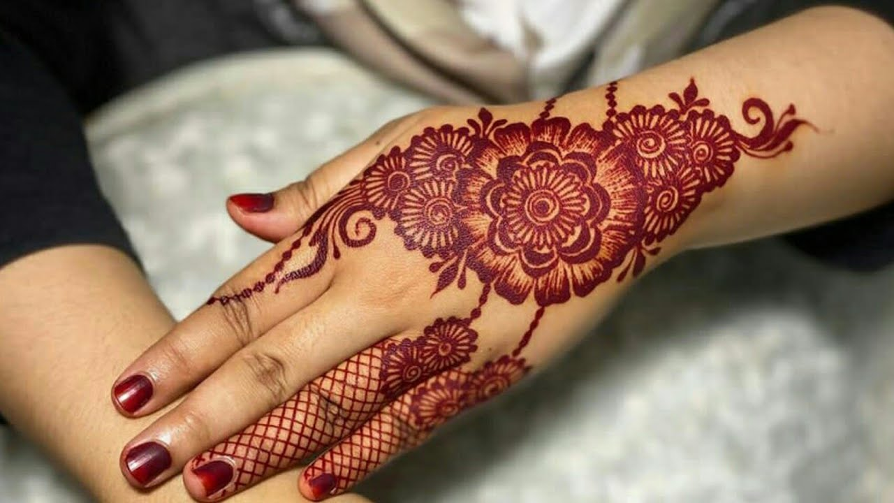 beautiful eid special mehndi design