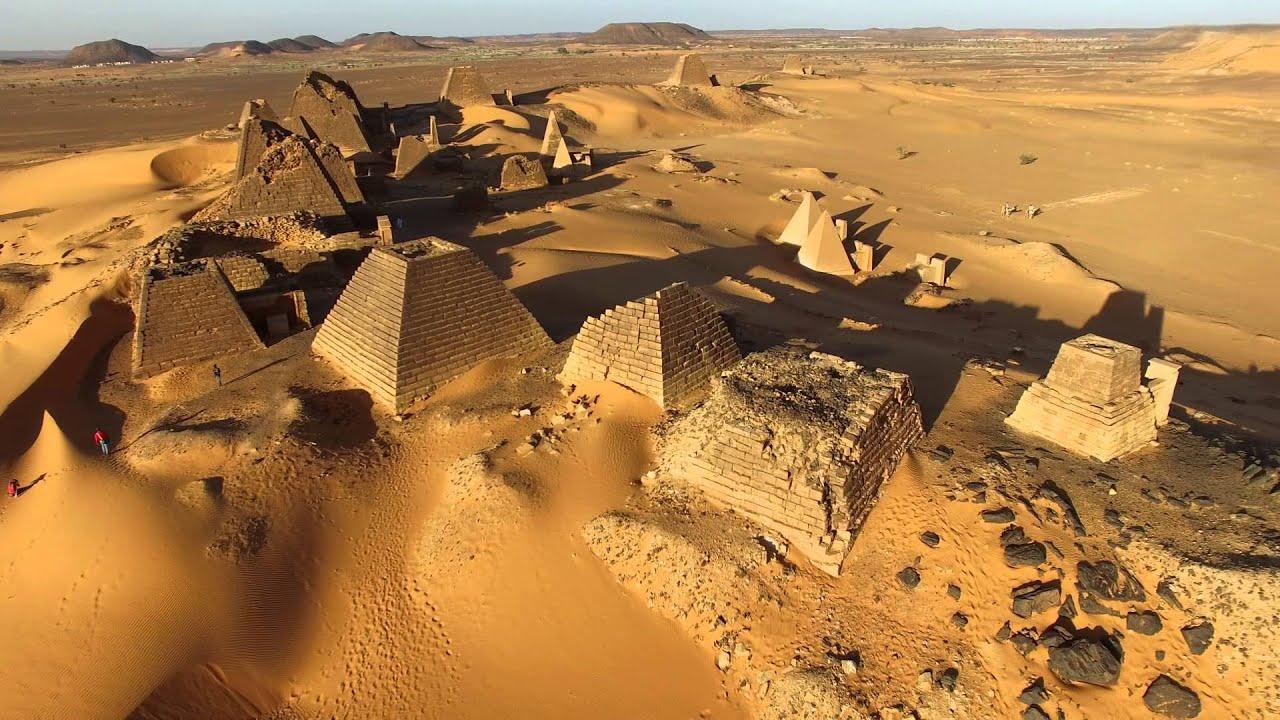 meroe pyramids, Nubian pyramids, Sudan,