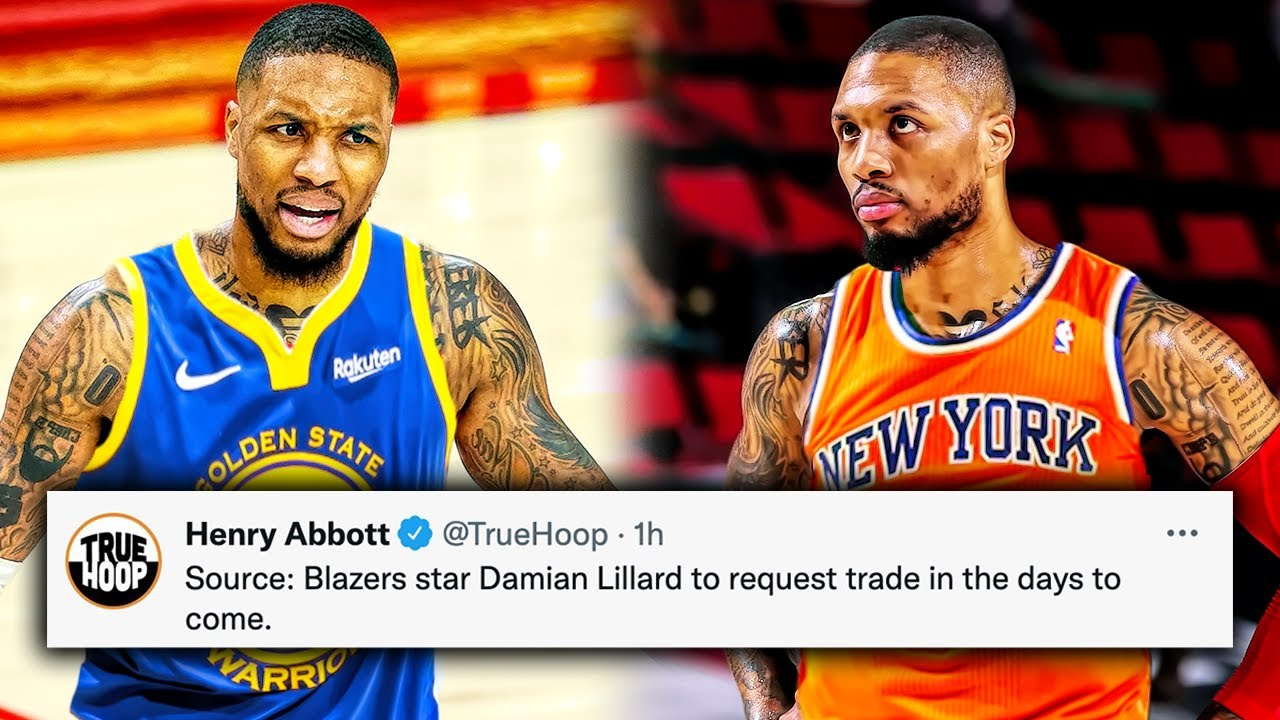 Damian Lillard may not have requested a trade, but that doesn't ...