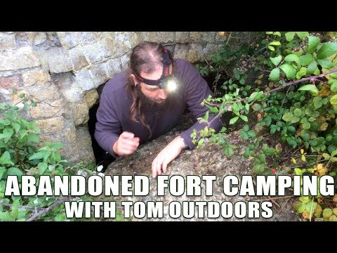 Wild Camping / Abandoned Fort Tunnels