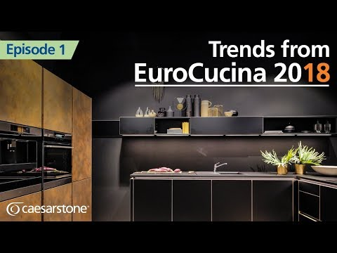 Kitchen of the Future | Milan Design Week Kitchen Trends 2018