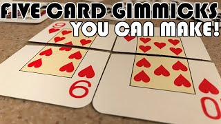 5 Easy Card Trick Gimmicks You Can Make at Home!