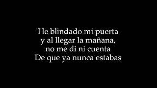 Karaoke - Enrique Urquijo - Aunque tú no lo sepas