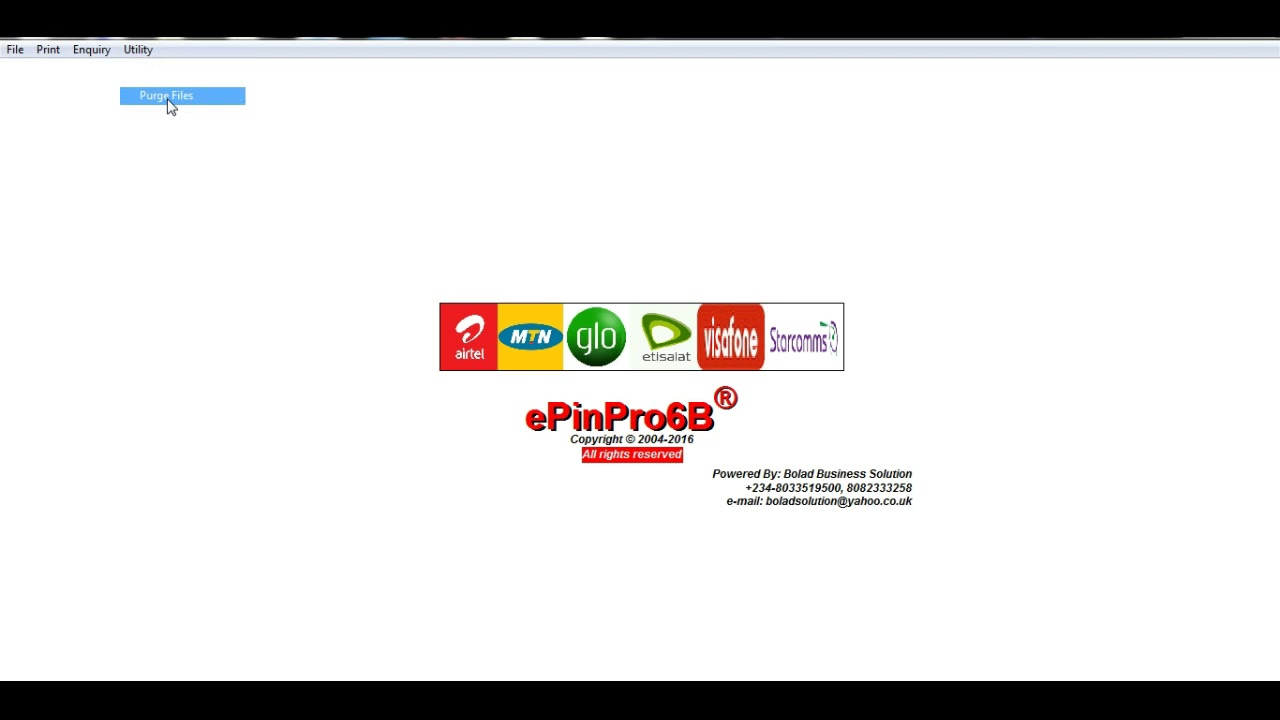 Second Recharge Card Printing Business - YouTube