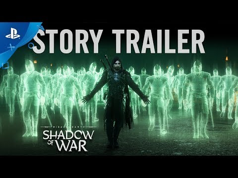Middle-earth: Shadow of War - Story Trailer | PS4