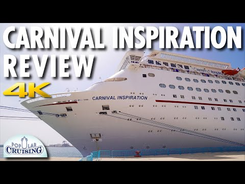 Carnival Inspiration Tour & Review ~ Carnival Cruise Line ~ Cruise Ship Tour & Review [4K Ultra HD]