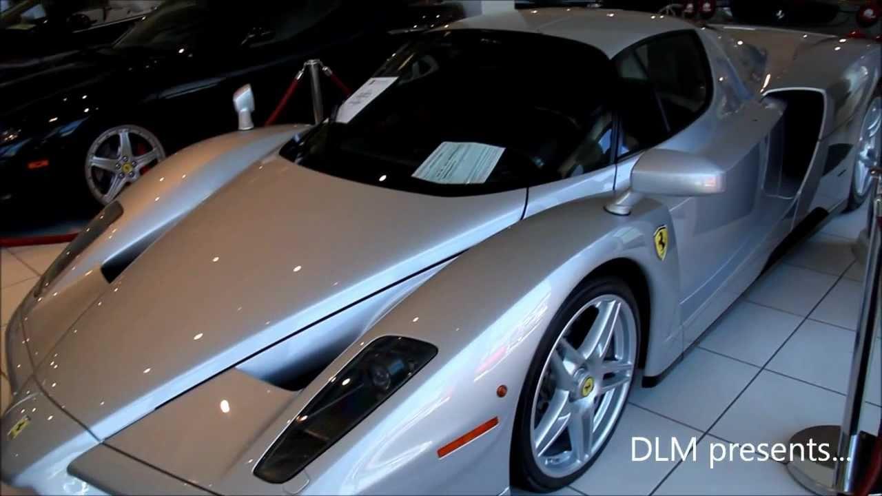 For Sale Rare Silver 2003 Ferrari Enzo Gtspirit