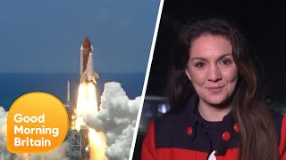 The First Cookie Cooked in Space and Laura Tobin Shows Us Around NASA | Good Morning Britain