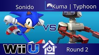 Typo @ The Lab 7/27/17 - Sonido (Sonic) vs Kuma | Typhoon (ROB) - Smash 4 Round 2