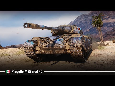 Progetto M35 Mod 46 | Ворвался с 2-х ног