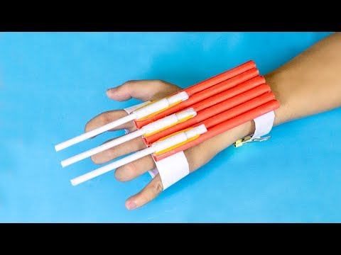 DIY Paper Weapons - Very Powerful