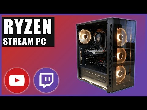 600 Euro Streaming PC Ryzen 3000 | 1080p Preset Medium (2019)