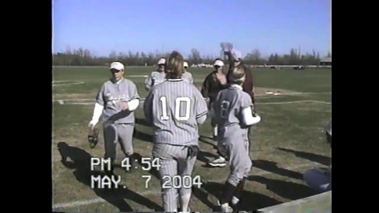 NCCS - Saranac Softball  5-7-04