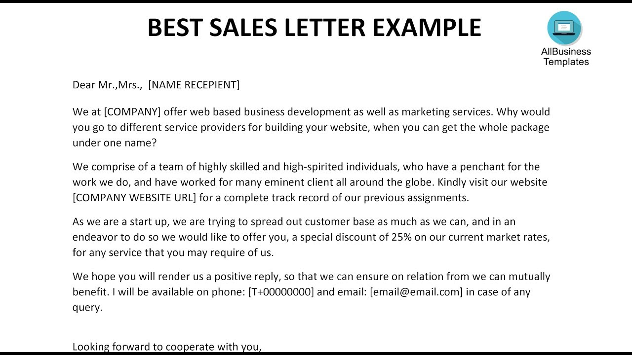 Business Sales Letter Sample from i.ytimg.com