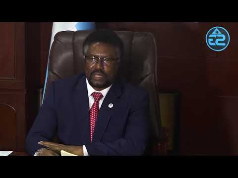 Somalia Parliament holds press conference shortly after vote of no-confidence against PM