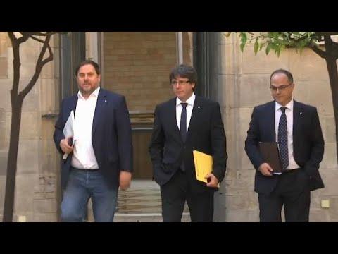 Semana decisiva para a Catalunha
