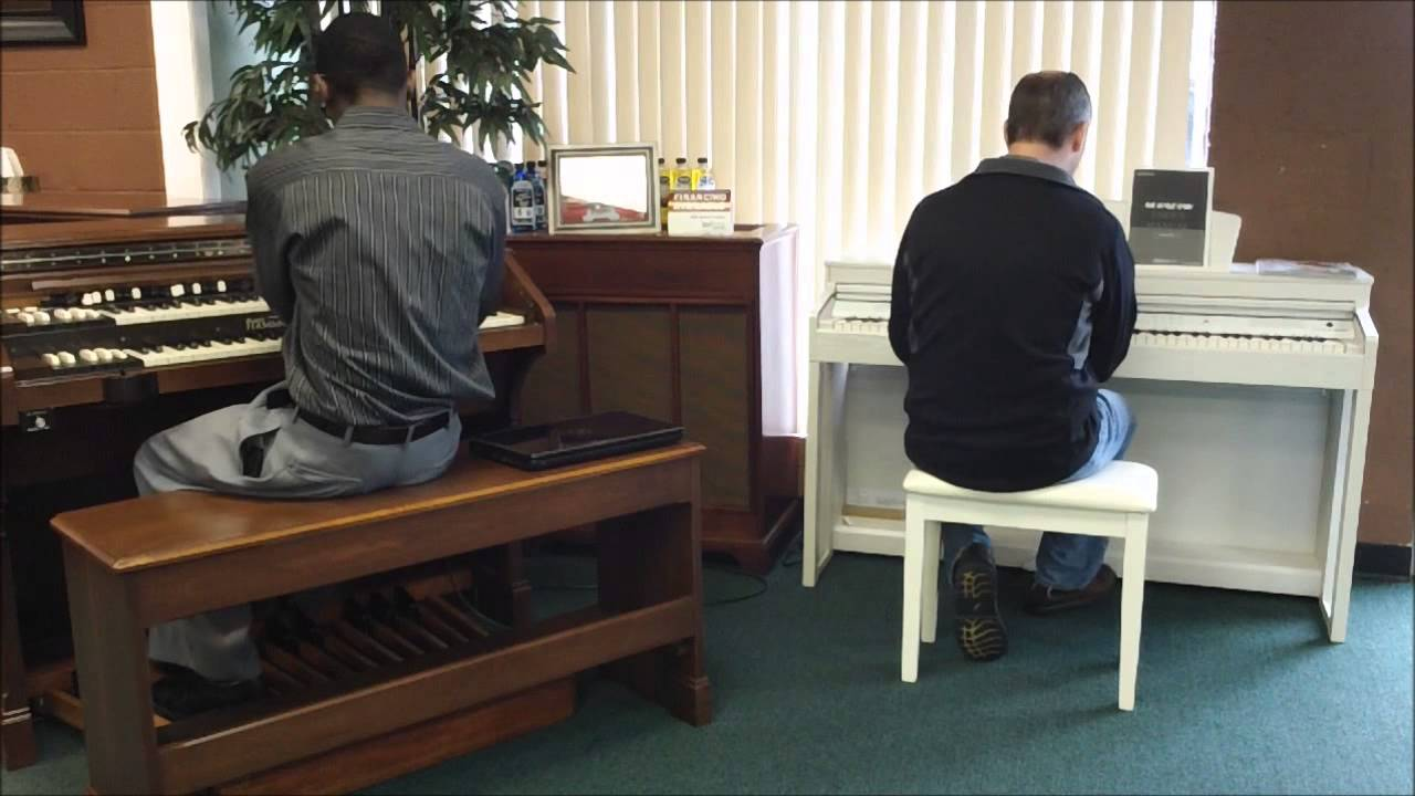 kurzweil m3w digital piano with hammond demo youtube. Black Bedroom Furniture Sets. Home Design Ideas