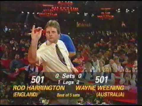 Darts World Championship 1993 Round 1 Harrington vs Weening