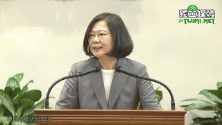 接見在美僑胞 蔡英文:期盼共同努力打造更好台灣