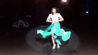 Miss Burlesque Australia 2015 - Zelia Rose - Handover