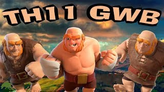 TH11 GWB GIANTS WITCHES BOWLERS CLASH OF CLANS