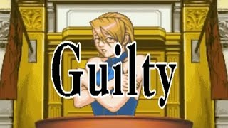 Phoenix Wright: Ace Attorney Justice For All - Game Over (All Cases 1-4)