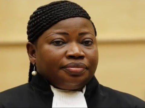 FATOU BENSOUDA THE ICC CHIEF PROSECUTOR