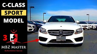 2017 Mercedes C-Class Visual Differences Part 3: SPORT Model