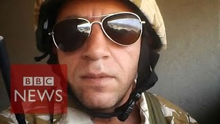 Meet the Briton fighting ISIS in Iraq - BBC News