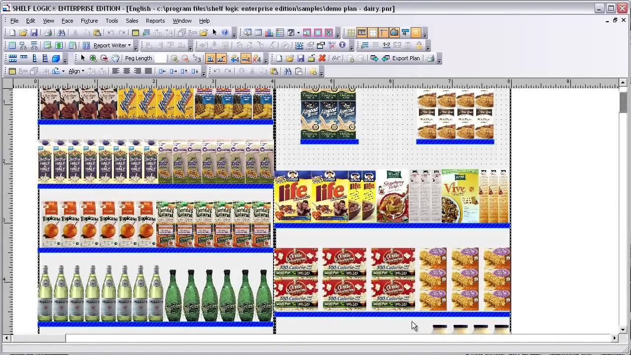 retailmanagement shelf logic enterprise edition