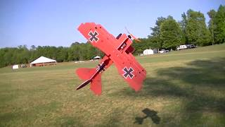 Flying fun at Joe Nall on electric flight line with the new Twisted...