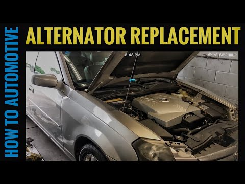 How to Replace the Alternator on a 2003-2007 Cadillac CTS with 2.8L Engine