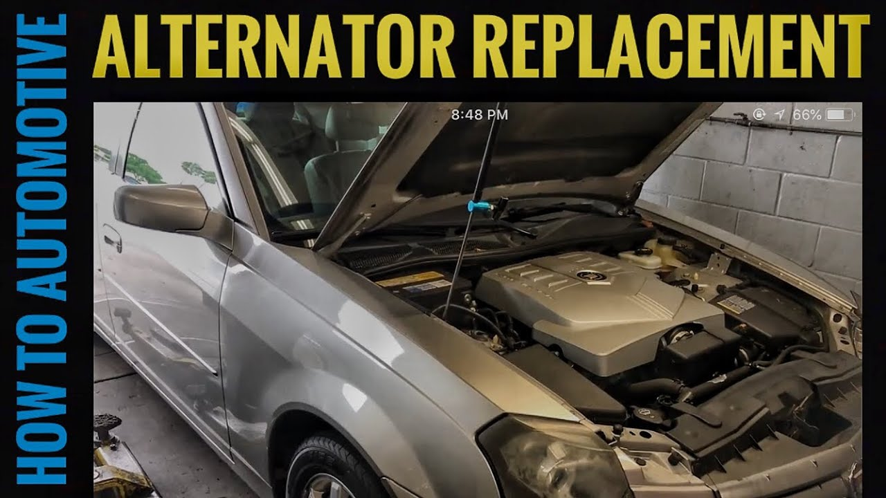 How To Replace The Alternator On A 2003