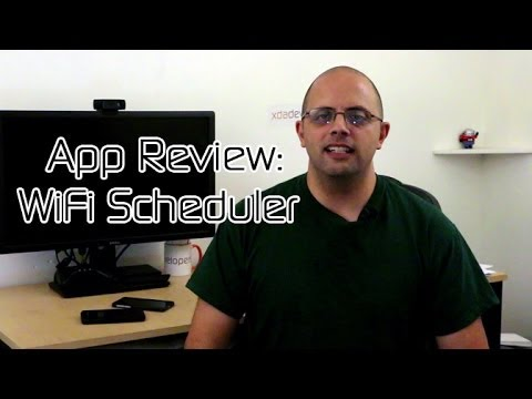 Manage Your WiFi With WiFi Scheduler -- Android App Review