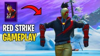 Unlocking The *NEW* Fortnite Red Strike Starter Pack Early! (Gameplay)