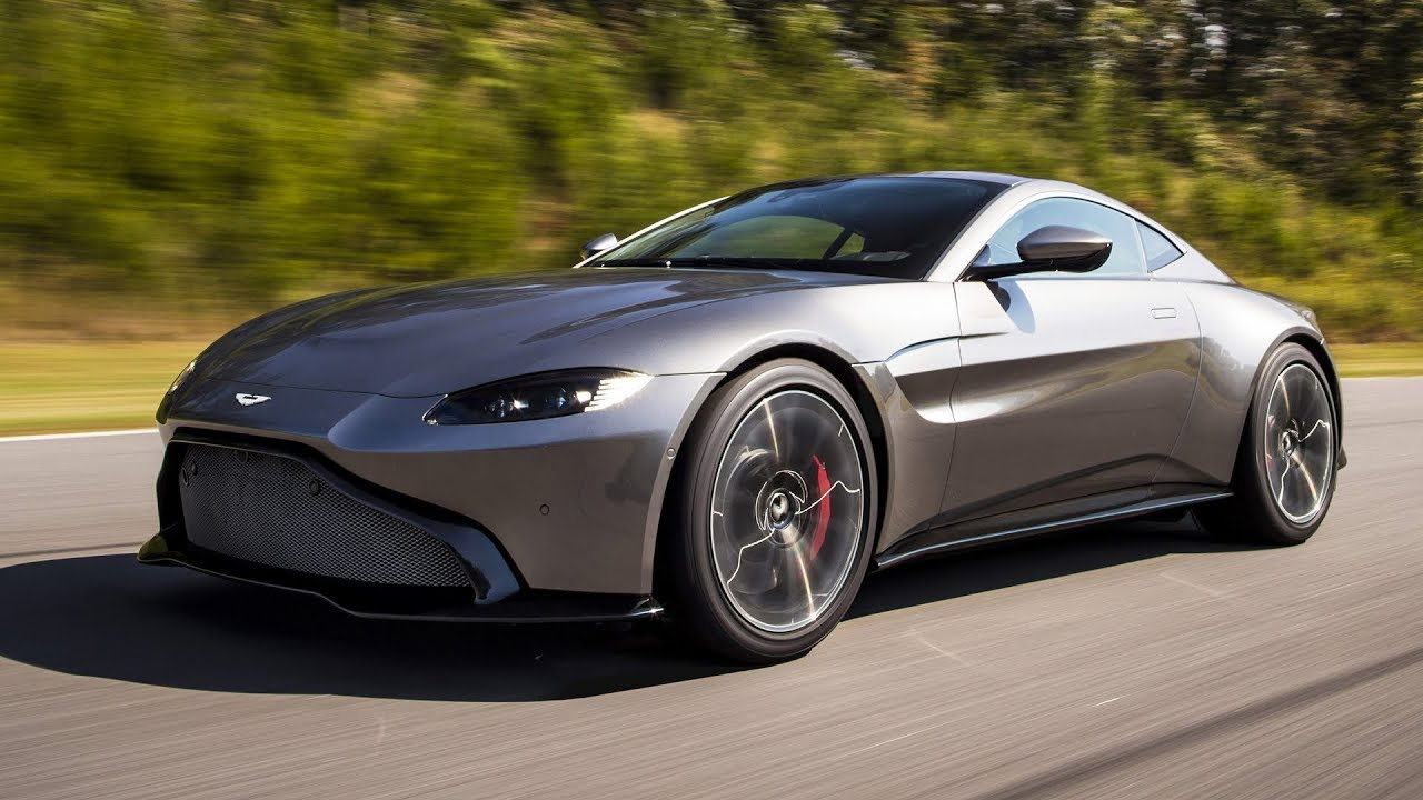 8 Aston Martin Vantage - Official Photos Tungsten Silver / Lime | silver aston martin