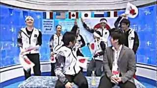 April 2012 Daisuke Takahashi 高橋大輔 フィギュアスケート 世界国別対...